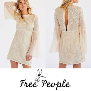 NWT FREE PEOPLE   Cleo Tonal Mini Dress